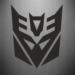 Наклейка Decepticons logo