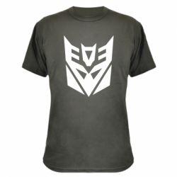 Камуфляжная футболка Decepticons logo