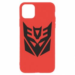 Чохол для iPhone 11 Decepticons logo