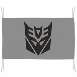 Флаг Decepticons logo