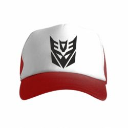 Детская кепка-тракер Decepticons logo