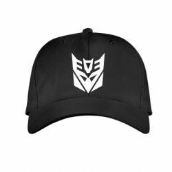 Детская кепка Decepticons logo