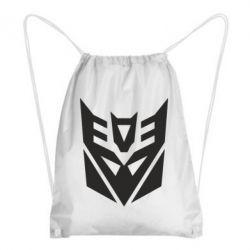 Рюкзак-мешок Decepticons logo