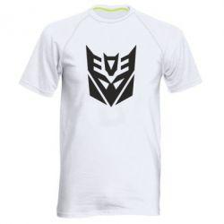 Мужская спортивная футболка Decepticons logo