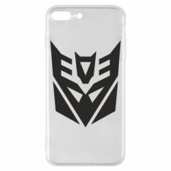 Чохол для iPhone 8 Plus Decepticons logo