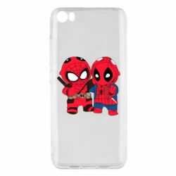 Чехол для Xiaomi Mi5/Mi5 Pro Дэдпул и Человек паук