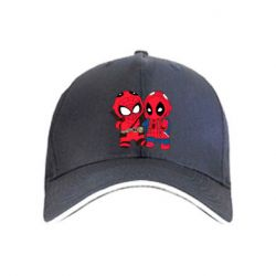 Кепка Дэдпул и Человек паук