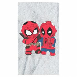 Полотенце Дэдпул и Человек паук