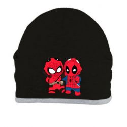 Шапка Дэдпул и Человек паук