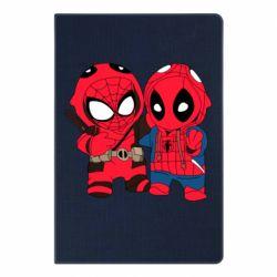 Блокнот А5 Дэдпул и Человек паук