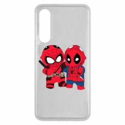 Чехол для Xiaomi Mi9 SE Дэдпул и Человек паук