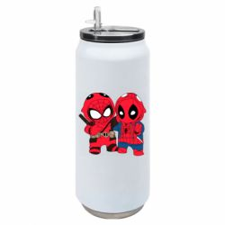 Термобанка 500ml Дэдпул и Человек паук