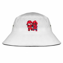 Панама Дэдпул и Человек паук