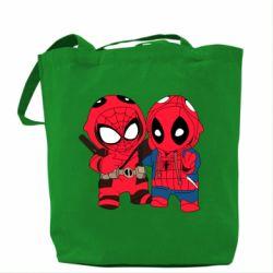 Сумка Дэдпул и Человек паук