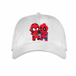 Детская кепка Дэдпул и Человек паук