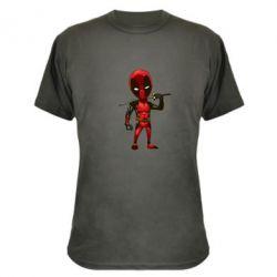 Камуфляжная футболка Дэдпул - FatLine