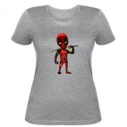 Женская футболка Дэдпул - FatLine
