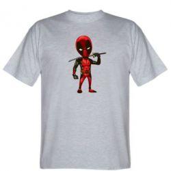 Мужская футболка Дэдпул - FatLine