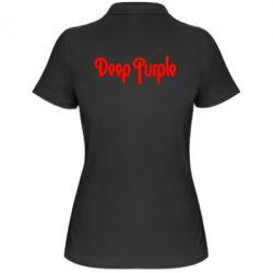 Женская футболка поло Deep Purple - FatLine