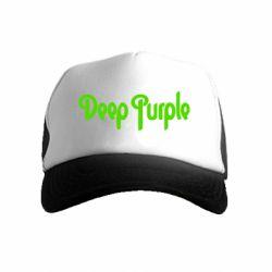 Дитяча кепка-тракер Deep Purple