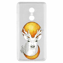 Чехол для Xiaomi Redmi Note 4x Deer and moon