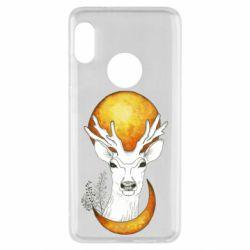 Чехол для Xiaomi Redmi Note 5 Deer and moon