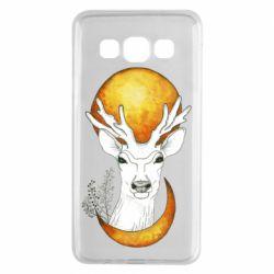 Чохол для Samsung A3 2015 Deer and moon
