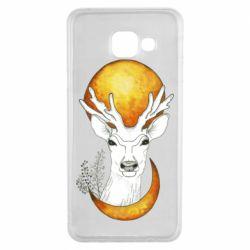 Чохол для Samsung A3 2016 Deer and moon