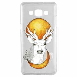 Чохол для Samsung A5 2015 Deer and moon