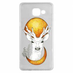 Чехол для Samsung A5 2016 Deer and moon