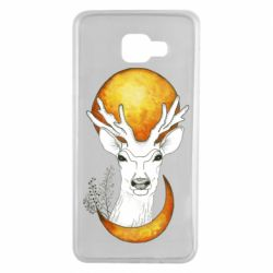 Чехол для Samsung A7 2016 Deer and moon