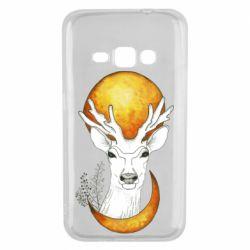Чохол для Samsung J1 2016 Deer and moon