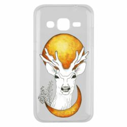 Чехол для Samsung J2 2015 Deer and moon