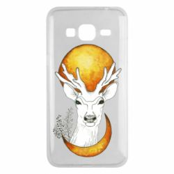 Чехол для Samsung J3 2016 Deer and moon