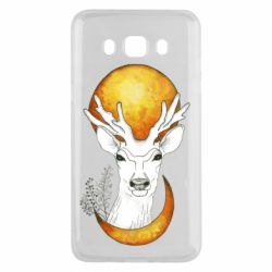 Чехол для Samsung J5 2016 Deer and moon
