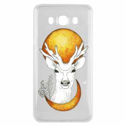 Чохол для Samsung J7 2016 Deer and moon