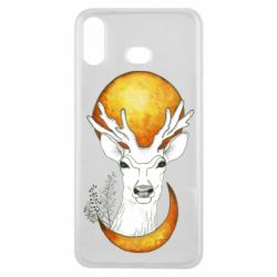Чехол для Samsung A6s Deer and moon