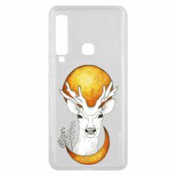 Чехол для Samsung A9 2018 Deer and moon
