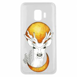 Чехол для Samsung J2 Core Deer and moon