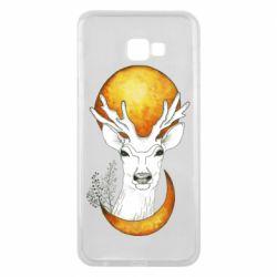 Чехол для Samsung J4 Plus 2018 Deer and moon