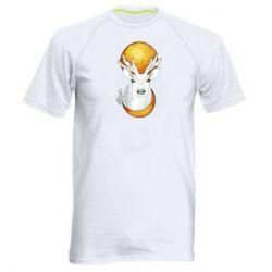 Чоловіча спортивна футболка Deer and moon