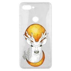 Чехол для Xiaomi Mi8 Lite Deer and moon