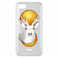 Чехол для Xiaomi Redmi 6A Deer and moon