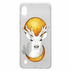 Чехол для Samsung A10 Deer and moon