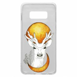 Чехол для Samsung S10e Deer and moon