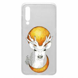 Чехол для Xiaomi Mi9 Deer and moon