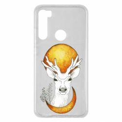 Чехол для Xiaomi Redmi Note 8 Deer and moon