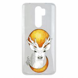 Чехол для Xiaomi Redmi Note 8 Pro Deer and moon