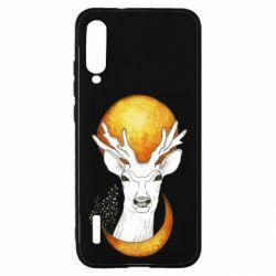 Чохол для Xiaomi Mi A3 Deer and moon