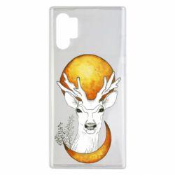 Чехол для Samsung Note 10 Plus Deer and moon